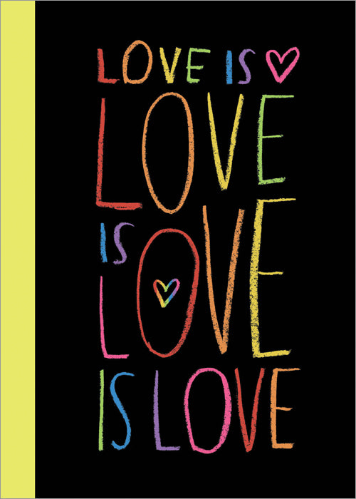 Love is Love is Love is Love (Hardcover)