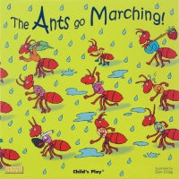 The Ants go Marching! Board Book