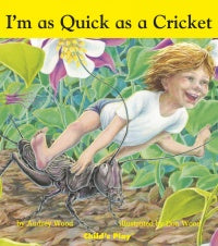 I'm as Quick as a Cricket Board Book