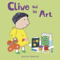 Clive and his Art Board Book