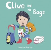 Clive and his Bags Board Book