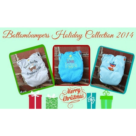 FINAL SALE Bottombumpers SIZED AIO Holiday 2014 - Lil Tulips