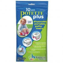 On the Go Potty Potette Chair Refill Liners - Lil Tulips