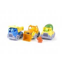 Green Toys Construction Trucks Set - Lil Tulips - 3