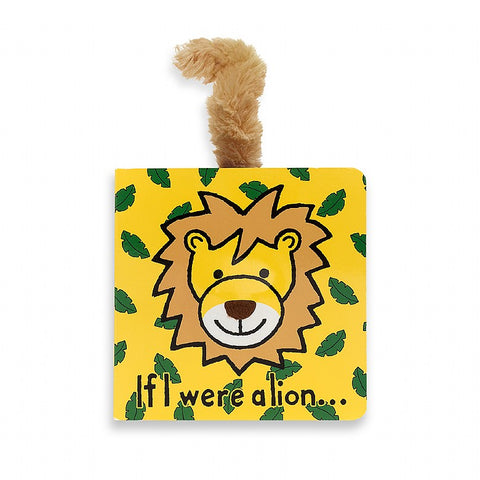 Jellycat If I Were a Lion Book - Lil Tulips