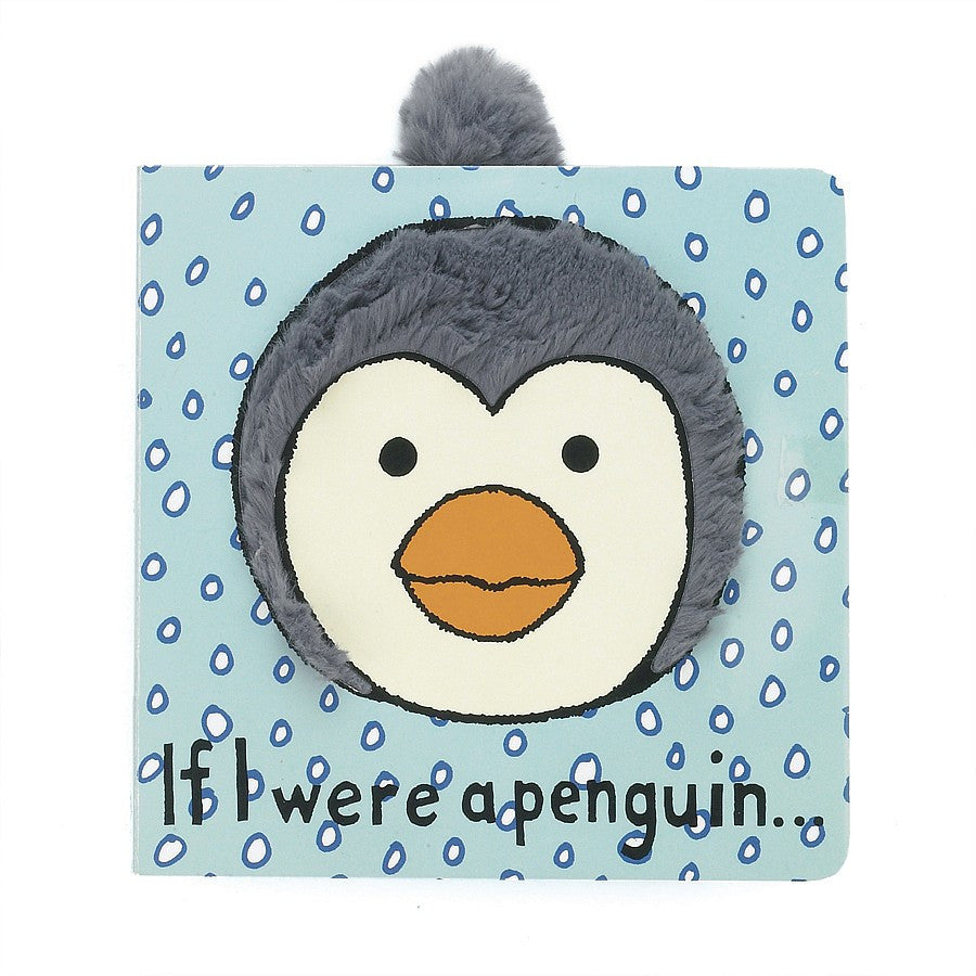 JellyCat If I Were a Penguin Board Book - Lil Tulips