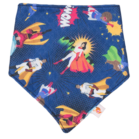 Never Alone Bandana Bib