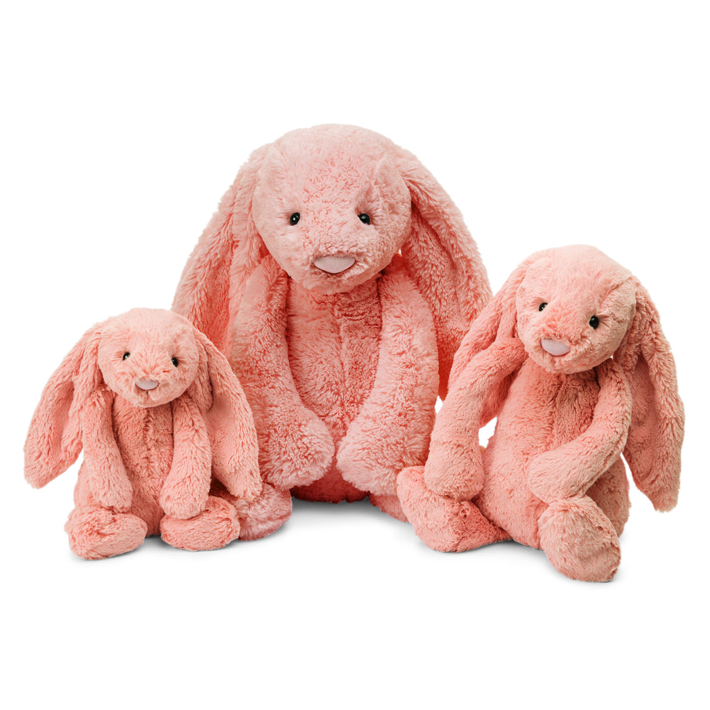 JellyCat Bashful Bunny Peach Huge