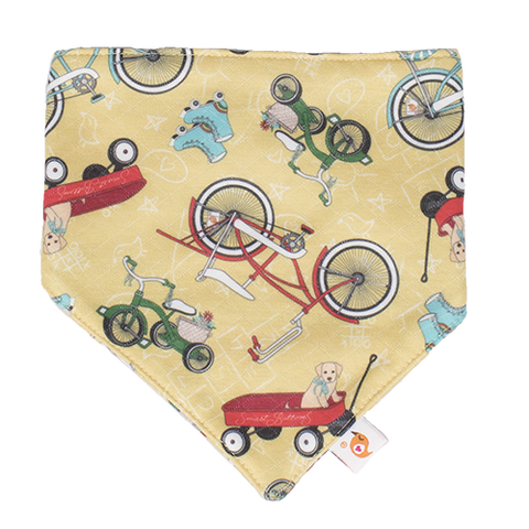 How We Roll Bandana Bib