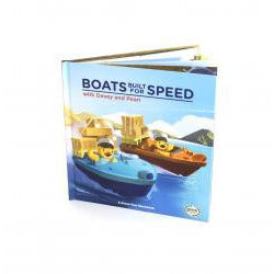 Green Toys Boats Built for Speed - Lil Tulips - 1