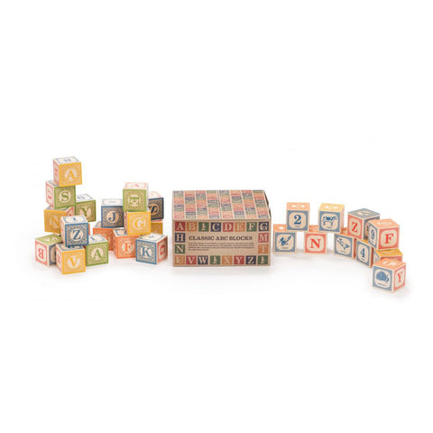 Classic ABC Blocks - Lil Tulips - 1