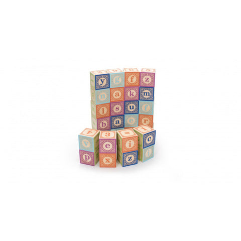 Classic Lowercase ABC Blocks - Lil Tulips - 1