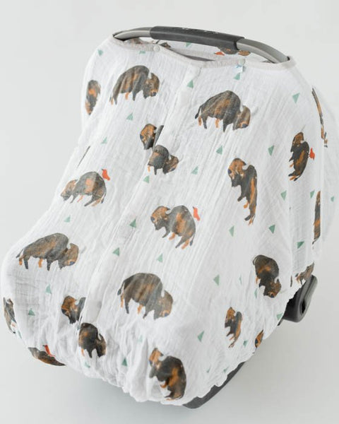 Car Seat Canopy Bison