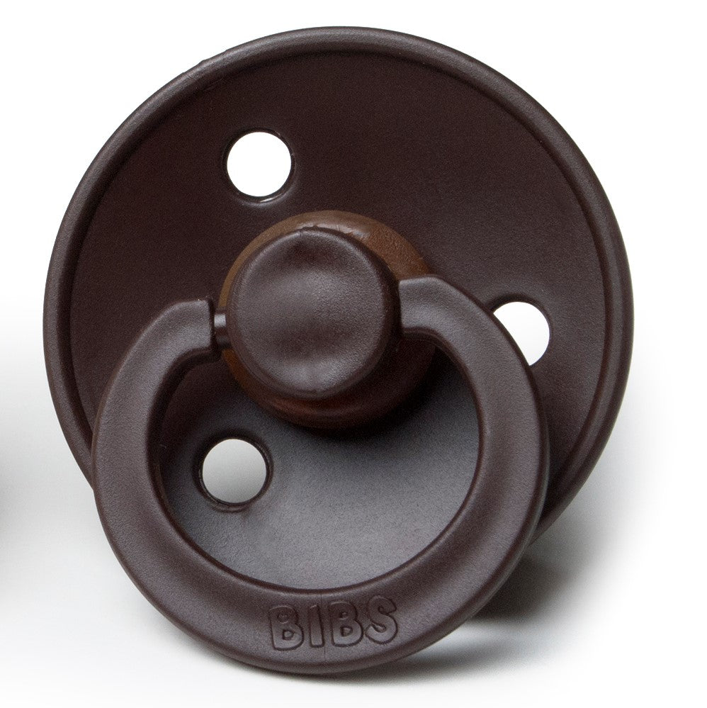 Natural Rubber Pacifier Chocolate