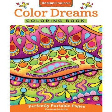 Color Dreams Coloring book - Lil Tulips