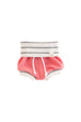 Coral Reef And Coastal Stripe Beach Shorties