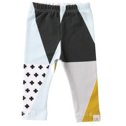 Lulu and Roo Cross Point Toddler Leggings