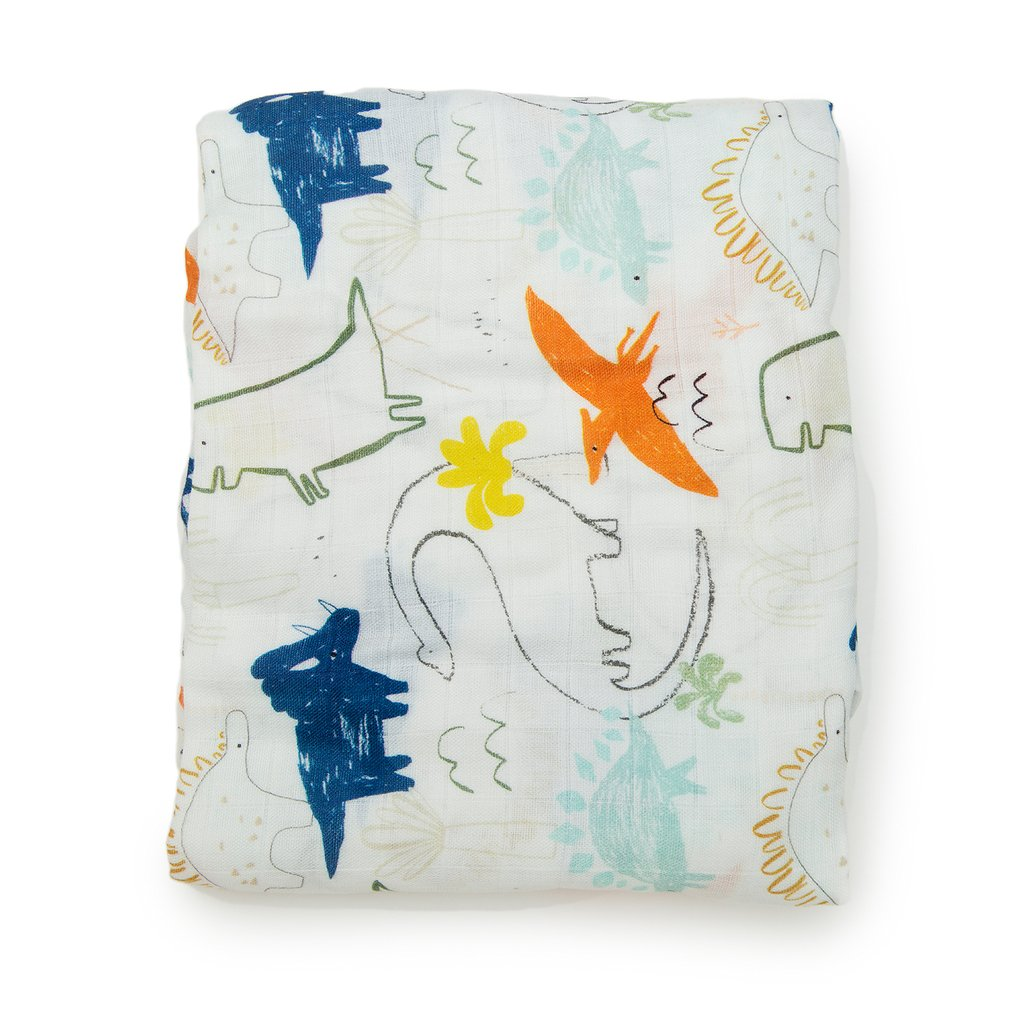 Fitted Crib Sheet - Dinoland