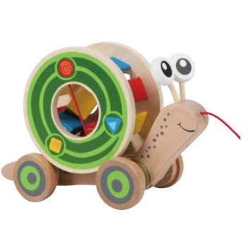 Hape Walk-A-Long Snail - Lil Tulips