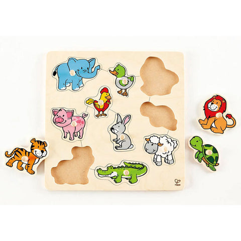 Friendly Animals Puzzle