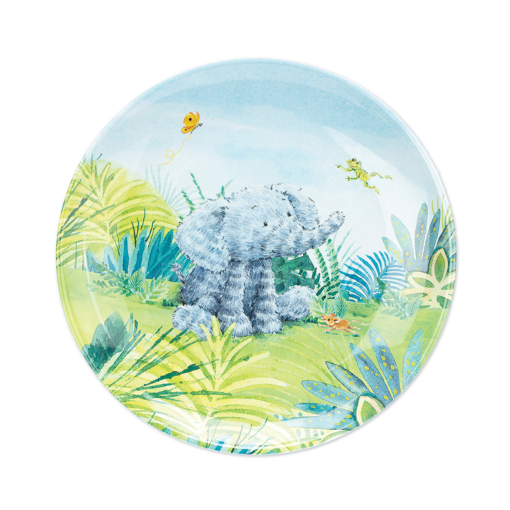 Elephants Can't Fly Melamine Plate