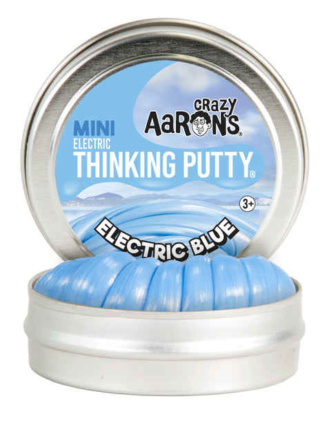 "Mini 2"" Electric Blue Thinking Putty"