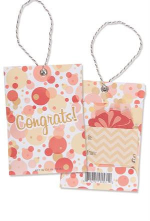 Scented Gift Tag CONGRATS