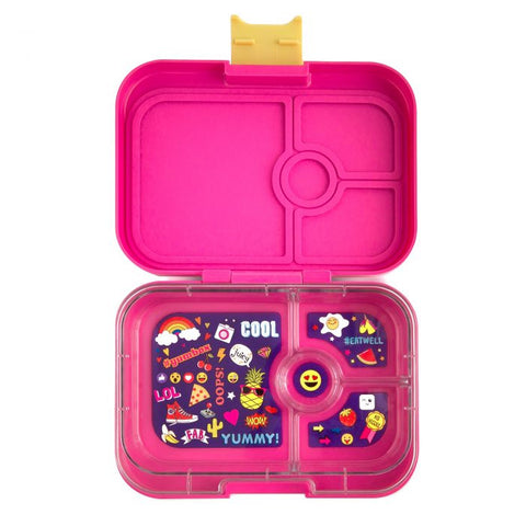 Kawaii Pink 4 Compartment Yumbox
