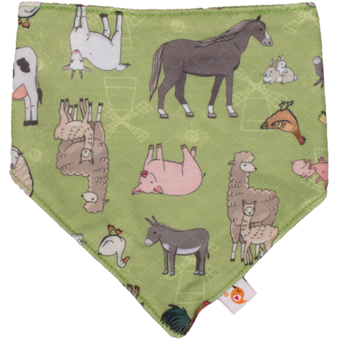 Farm Adventure Bandana Bib