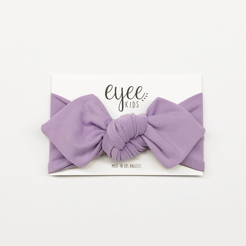 Top Knot Headband - Lavender