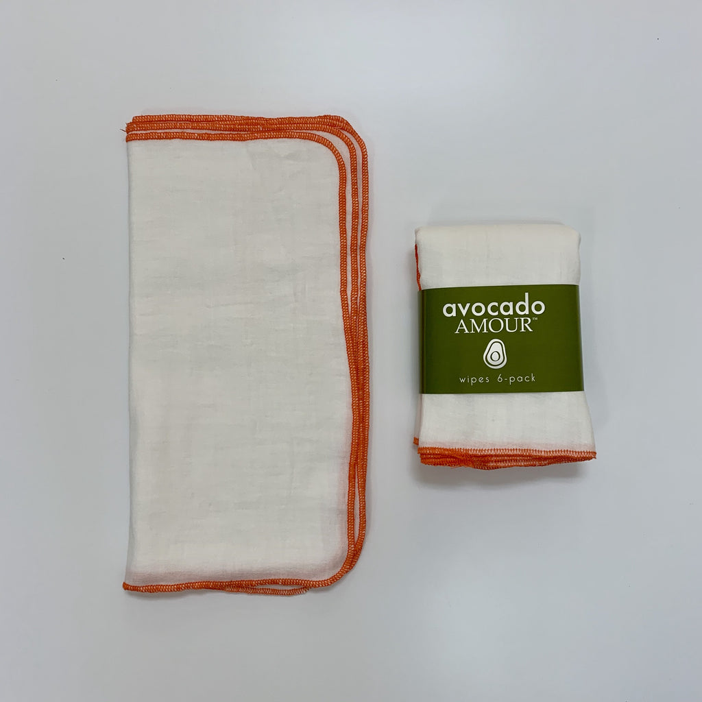 SECONDS Tangerine WIPES 6 Pack