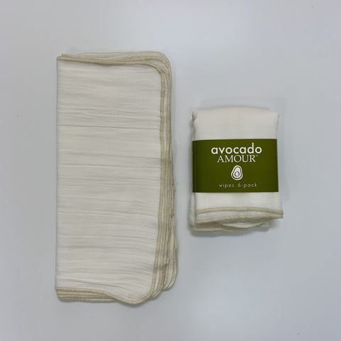 SECONDS Cream WIPES 6 Pack