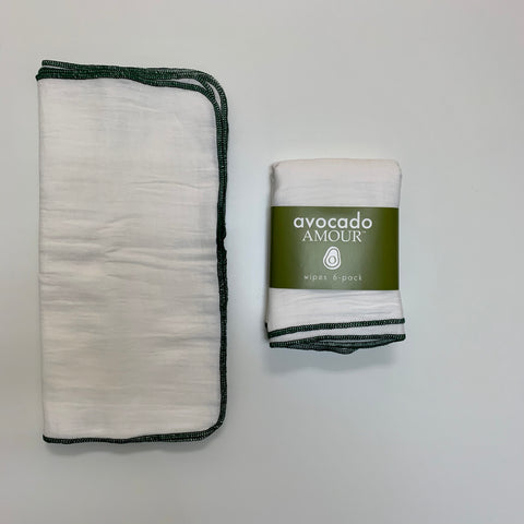 SECONDS Forest Green WIPES 6 Pack