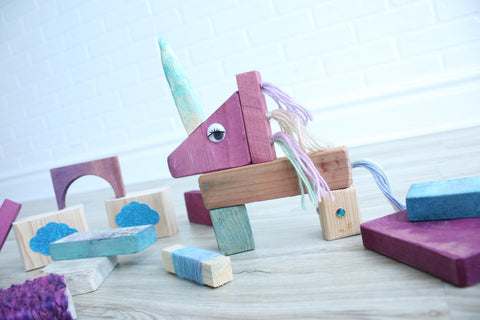 Scraps Toys Mini Unicorn Set