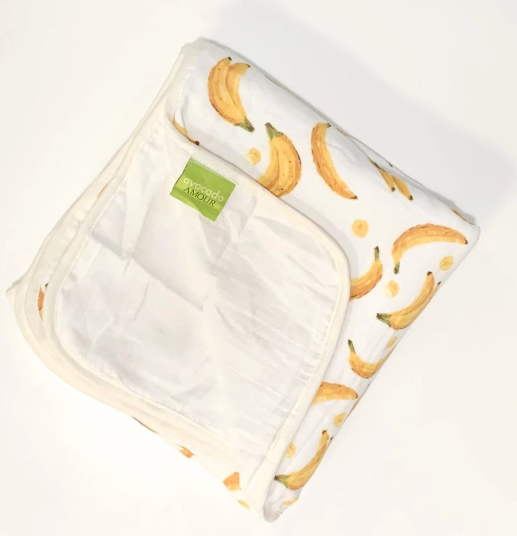 Go Bananas 3 Layer Blanket