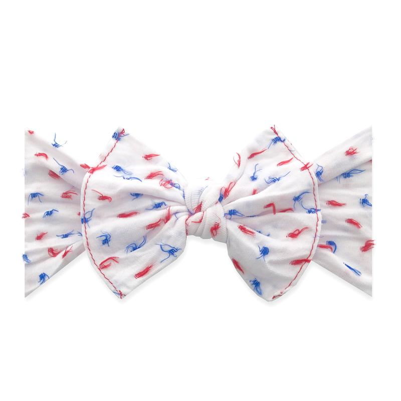 Clipped Dot Knot Headband USA
