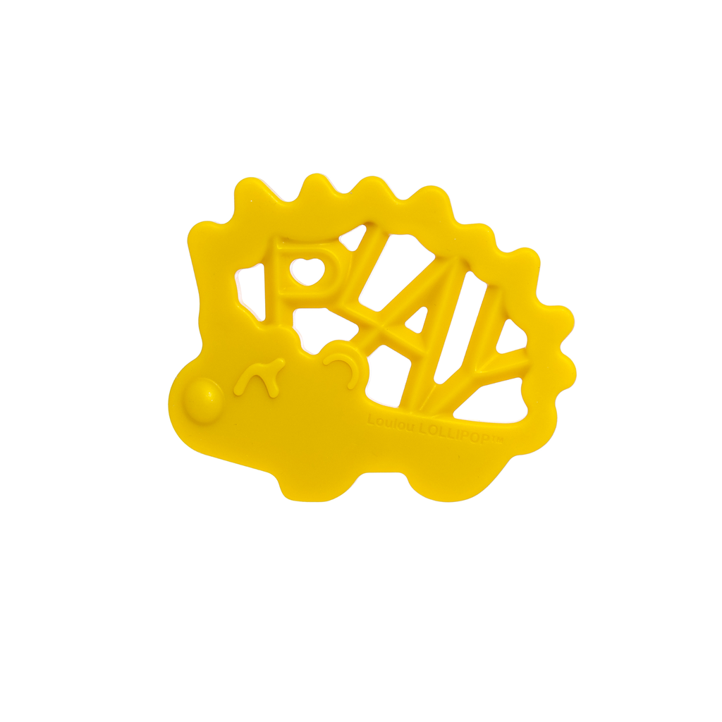 PLAY HEDGEHOG SILICONE TEETHER - SINGLE