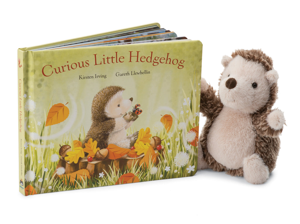 Curious Little Hedgehog Book