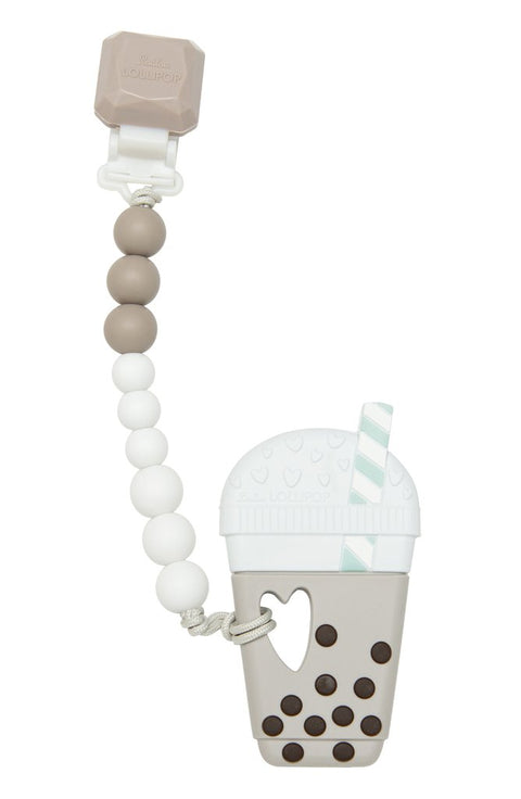 Milk Tea Bubble Tea Teether Set Gem