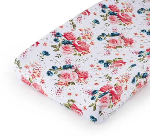 Changing Pad Cover FRENCH FLORAL
