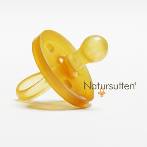 Natural Rubber Pacifier ORIGINAL ROUND