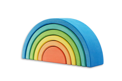 Ocamora 6 Piece Medium Rainbow Blue Outer