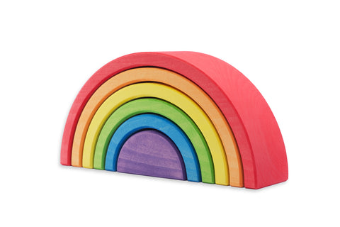 Ocamora 6 Piece Medium Rainbow Red Outer