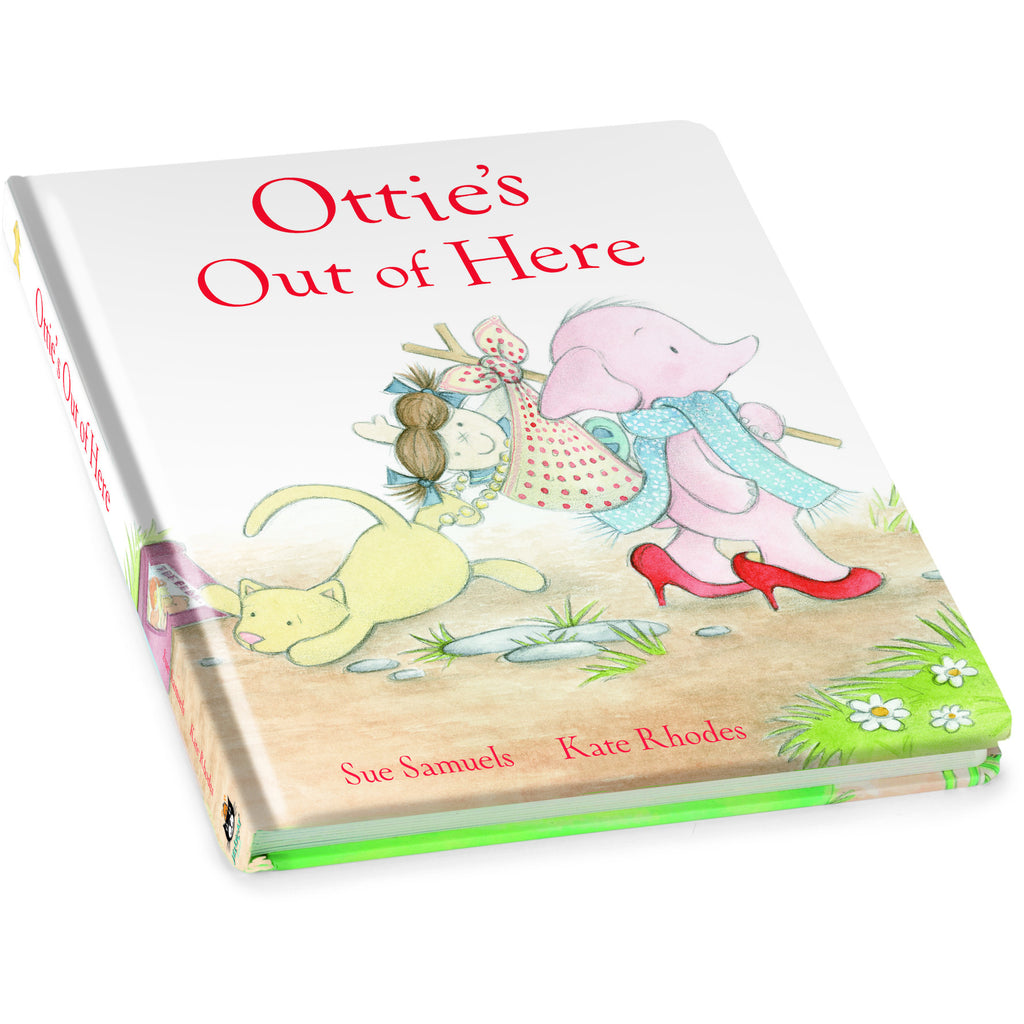 JellyCat Ottie's Out of Here Book - Lil Tulips