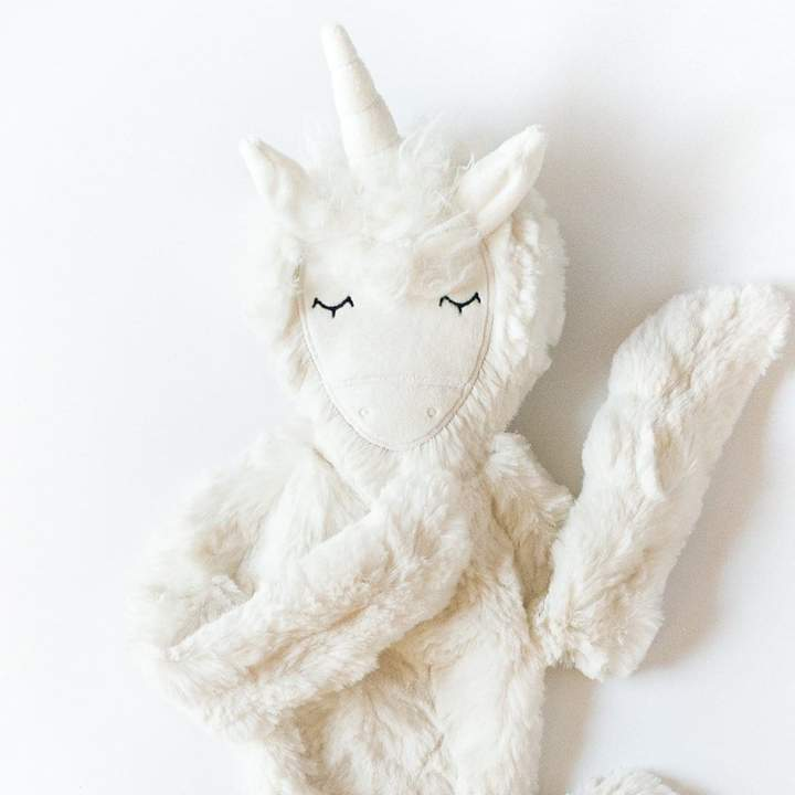 Ivory Unicorn Snuggler Bundle
