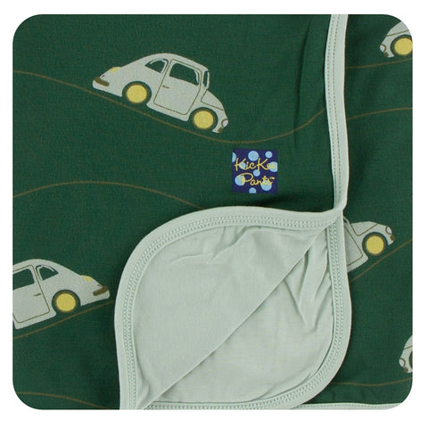 Topiary Italian Car  Stroller Blanket