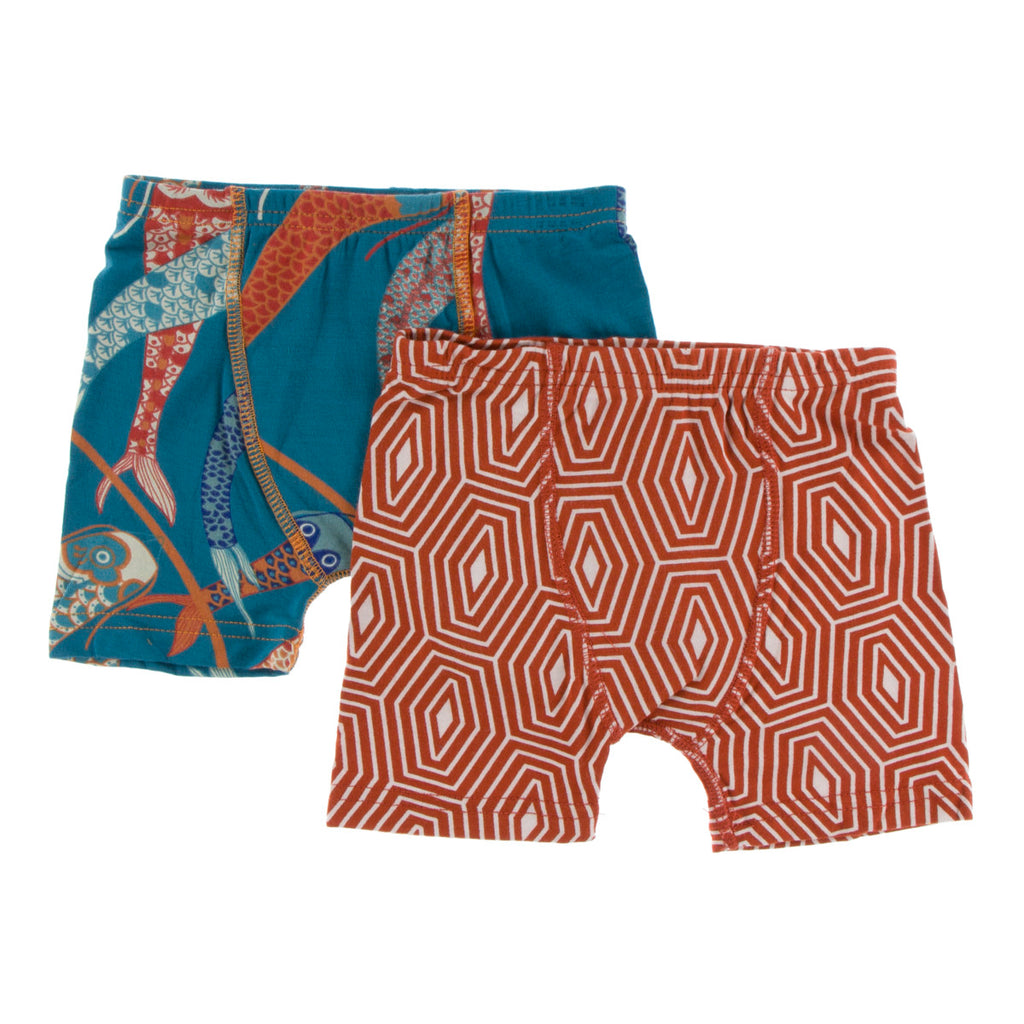 Oasis Koinobori and Red Tea Tortoise Shell Boxer Briefs