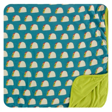 Seagrass Tacos Toddler Blanket