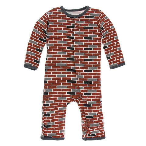 London Brick Coverall with Snaps