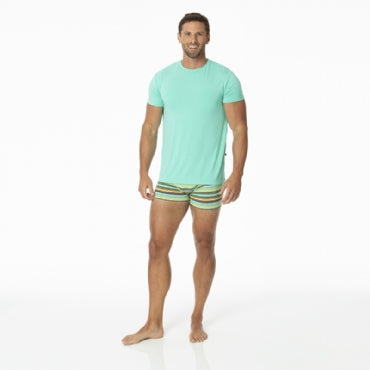 Cancun Glass Stripe Boxer Brief (Small)